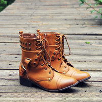 The Eddie Studded Boot