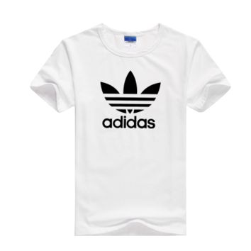"""Adidas"" Men Fashion Casual Classic Clover Letter Print Round Neck Short Sleeve Cotton T-shirt"