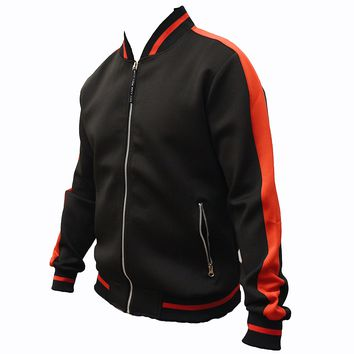 Jacob Varsity Jacket (Black/Red)