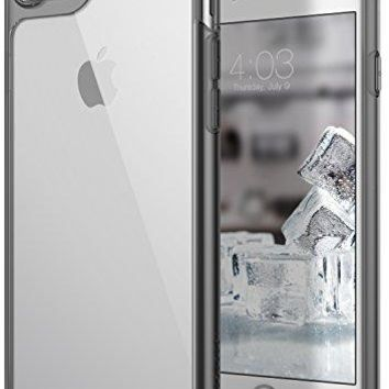 iPhone 8 Case / iPhone 7 Case Caseology [Waterfall Series] with Slim Clear Transparent Protective Shock Absorbing Air Space Technology for Apple iPhone 7 (2016) / iPhone 8 (2017) - Gray