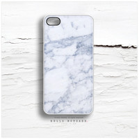 iPhone 5C Case Granite Texture, iPhone 5s Case Marble Print, iPhone 4 Case, Stone iPhone 4s Case, Gray iPhone Case, White iPhone Cover T61