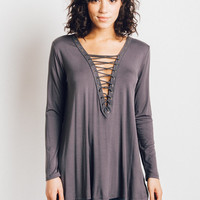 Lace Up Tunic