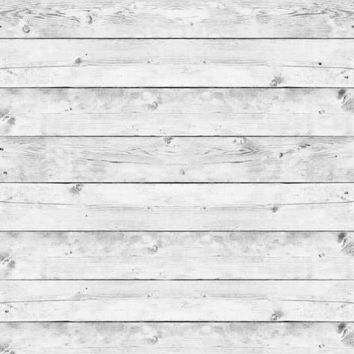 Light White Wash Wood Vinyl Backdrop - 6x8 - LCCR2270- LAST CALL