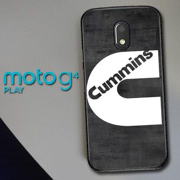 Cummins Turbo Diesel Y0003 Motorola Moto G4 Play Case