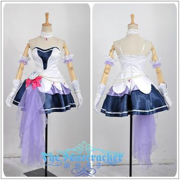 Shimamura Uzuki Stage Cosplay Costume Custom Made Sweetheart Sexy Dress The Idolmaster Cinderella Girls Starlight Stage Costume