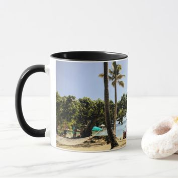 Tropical Sunny Beach Two Tone 11oz Mug