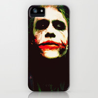 The Joker iPhone & iPod Case by Hands in the Sky