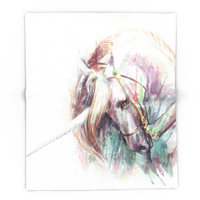 Society6 Unicorn Blanket