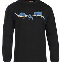 Men's Sailfish & Son L/S UV Fishing T-Shirt