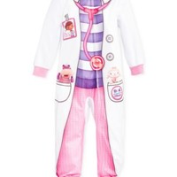Doc McStuffins Toddler Girls' One-Piece Footed Pajamas | macys.com