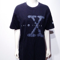 Original X FILES 93 FOX tv promo t-shirt