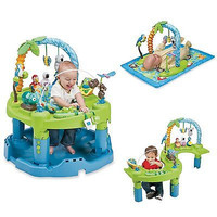 Evenflo Baby Exersaucer Jumperoo Triple Fun Activity Learning Center