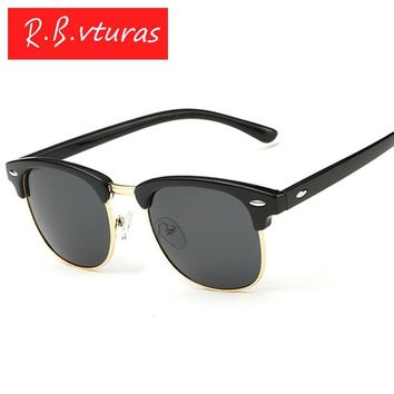 Top Classic Men women Rayed Hot sunglass Band UV400 Goggles Lady Sun Glasses aviator Ben Male Female 3016 Clubmastered Eyewear