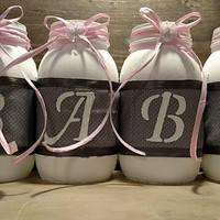 Baby Girl Mason Jar Set - Newborn Baby Girl Jar Set