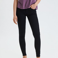 AE Ne(X)t Level Denim X Jegging, Bold Black