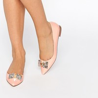 ASOS LAUGHTER Pointed Ballet Flats