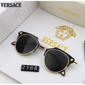 Versace Trending Men Women Stylish Summer Sun Shades Eyeglasses Glasses Sunglasses