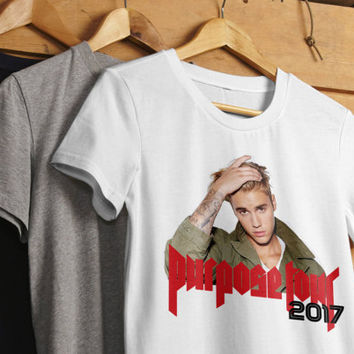 Purpose Tour, BIEBER Is My Bae, Justin Bieber Shirts, Concert Tees, Unisex T Shirt, Tumblr Tshirt, Band Shirts, Purpose Tour Tshirt