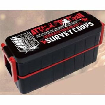 attack on titan survey corps lunch box from j list things i. Black Bedroom Furniture Sets. Home Design Ideas