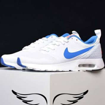 NIKE AIR MAX Lightweight Classic Training Shoes F-CSXY white+blue hook