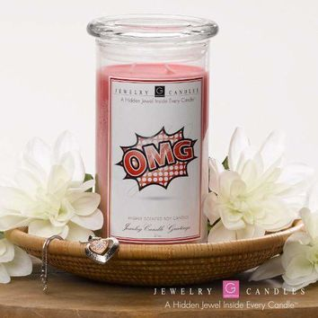 Omg! | Jewelry Greeting Candles