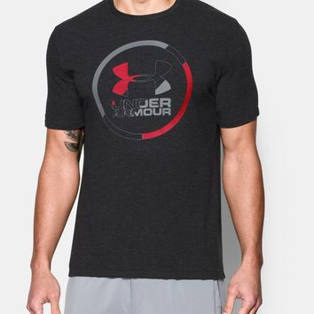 Men's UA Circle Split T-Shirt | Under Armour US