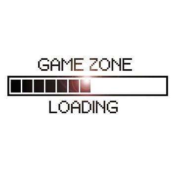 Vinyl Decal Game Zone Computer Gaming Decor Loading Video Game Wall Stickers Unique Gift (ig2747)