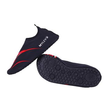 Men Women Lover Aqua Shoes Water Sports Sea Swimming Diving Shoes   Yoga Shoes