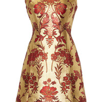 Floral Lurex Jacquard Dress | Moda Operandi