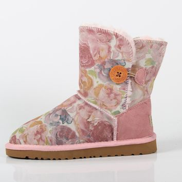 UGG winter new snow boots women's tube women's boots waterproof non-slip warm cotton shoes