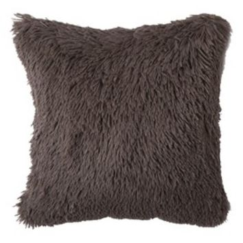 Threshold™ Long Fur River Birch Decorative Pillow