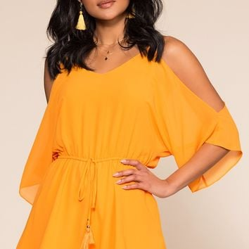 A Love Like This Romper - Marigold
