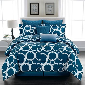DR International Rhys 8 Piece Comforter Set & Reviews | Wayfair