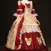 Baroque Theatrical Dress - Replica