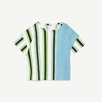STRIPED T-SHIRT DETAILS
