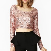 Brilliant Sequin Top