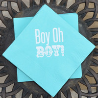 Gender Reveal Party Napkins - Set of 25