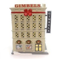 Department 56 House Gimbels Department Store Village Lighted Building