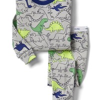 Navy dinosaur sleep set | Gap