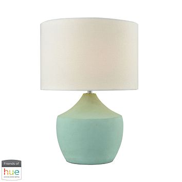 Curacao Table Lamp - Spearmint - with Philips Hue LED Bulb/Dimmer
