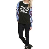 Pierce The Veil Tie Dye Girls Pullover Top