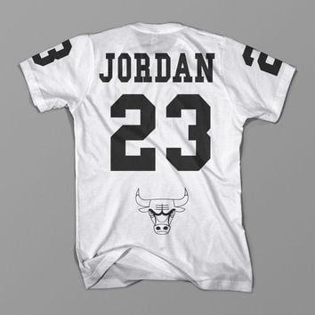 Michael Jordan 23 Chicago Bulls NBA T Shirt