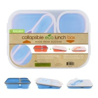Smart Planet Collapsible Eco Meal Kit, Large , Blue