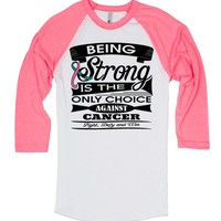 Hereditary Breast Cancer Being Strong Shirts