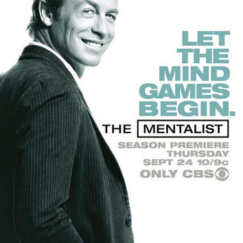 The Mentalist 11x17 Movie Poster (2008)