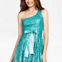 Swirly Sequin Dress