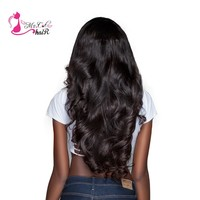 "Ms Cat Hair Brazilian Body Wave 1 Piece 100% Human Hair Weave Bundles Natural Color Non Remy 8"" - 26"" Hair Extensions"