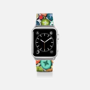 millefiori transparent apple watch band Apple Watch Band (38mm) by Sharon Turner | Casetify