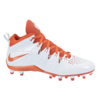 Nike Huarache 4 Lacrosse Cleats - White/Orange | Lacrosse Unlimited