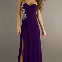 Sexy One Shoulder Prom Dress by Night Moves